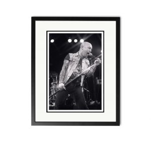 Rose Tattoo / Angry Anderson – 'Rare Limited Edition Fine Art Print'.