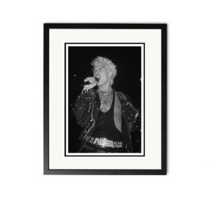 Billy Idol – 'Rare Limited Edition Fine Art Print'