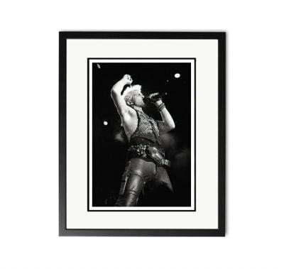 Billy Idol - 'Rare Limited Edition Fine Art Print'-0