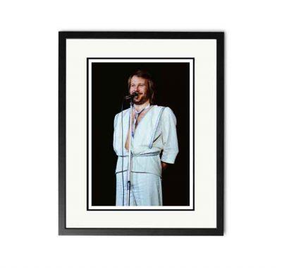 ABBA / Benny Andersson - 'Rare Limited Edition Fine Art Print'-0