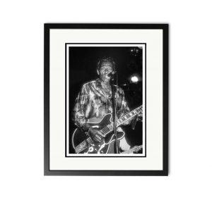 Chuck Berry – 'Rare Limited Edition Fine Art Print'