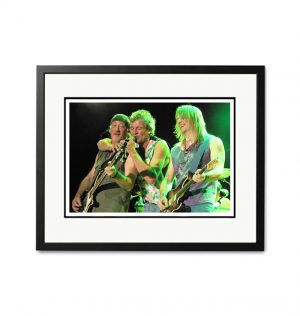 Deep Purple – 'Rare Limited Edition Fine Art Print'