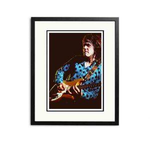 Gary Moore – 'Rare Limited Edition Fine Art Print'