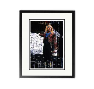 Van Halen / David Lee Roth – 'Rare Limited Edition Fine Art Print'