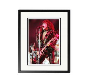 Kiss / Paul Stanley – 'Rare Limited Edition Fine Art Print'