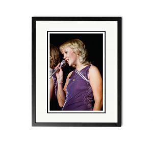 ABBA / Agnetha Faltskog – 'Rare Limited Edition Fine Art Print'