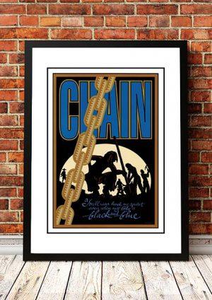 Chain 'Limited Edition' Ian McCausland Print