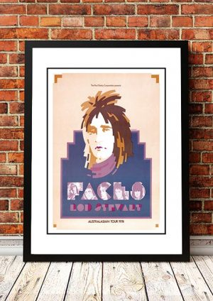 Rod Stewart & The Faces 1974 'Limited Edition' Ian McCausland Print