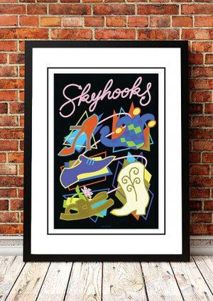 Skyhooks 'Limited Edition' Ian McCausland Print