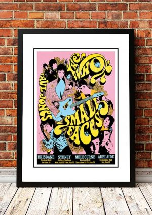 The Who / Small Faces 1968 'Limited Edition' Ian McCausland Print