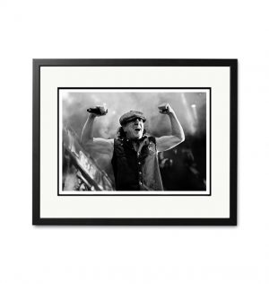 AC/DC / Brian Johnson – 'Rare Limited Edition Fine Art Print'