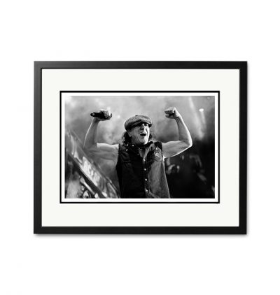 AC/DC / Brian Johnson - 'Rare Limited Edition Fine Art Print'-0