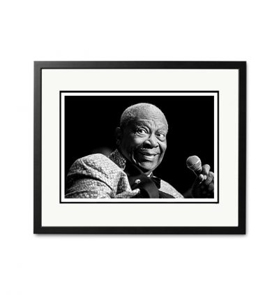 BB KIng - 'Rare Limited Edition Fine Art Print'-0