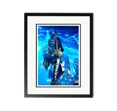 Kiss / Gene Simmons - 'Rare Limited Edition Fine Art Print'-0