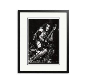 Kiss / Gene Simmons – 'Rare Limited Edition Fine Art Print'