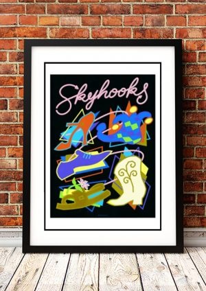 Skyhooks 'Limited Edition' Ian McCausland Print