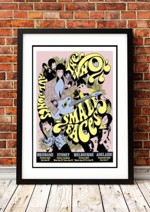 Who / Small Faces 1968 – 'Limited Edition' Ian McCausland Print