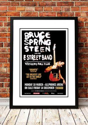 Bruce Springsteen 'Wrecking Ball Tour' Sydney, Australia 2013