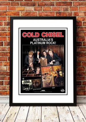Cold Chisel 'East' In Store Poster Europe 1980