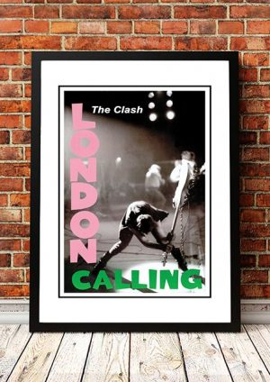 The Clash 'London Calling' In Store Poster UK 1979