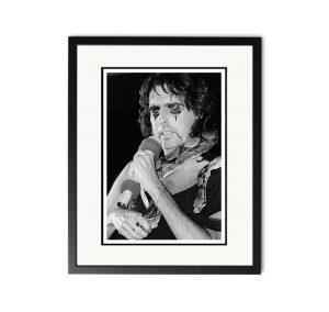 Alice Cooper – 'Signed Limited Edition Fine Art Print'