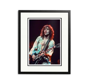 Peter Frampton – 'Signed Limited Edition Fine Art Print'