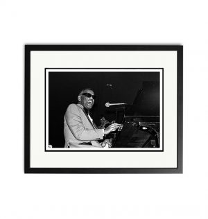 Ray Charles – 'Signed Limited Edition Fine Art Print'
