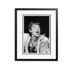 Rolling Stones / Mick Jagger – 'Signed Limited Edition Fine Art Print'