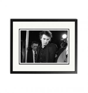 Sid Vicious – 'Signed Limited Edition Fine Art Print'