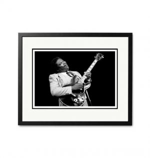 BB King 'London 1982' – 'Signed Limited Edition Fine Art Print'