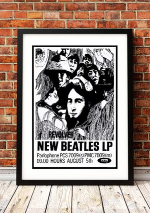 The Beatles – 'Revolver' In Store Poster UK 1966