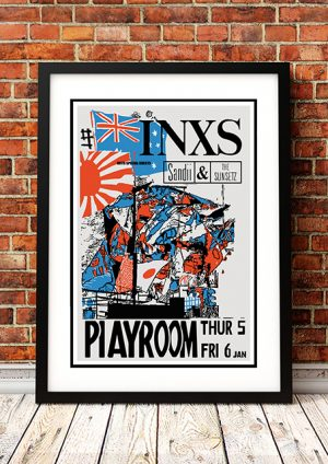 INXS / Sandii And The Sunsetz 'Playroom' Gold Coast, Australia 1984