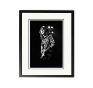 Rory Gallagher 'London 1980' – 'Signed Limited Edition Fine Art Print'