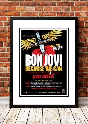 Bon Jovi / Kid Rock 'Australian Tour' 2013