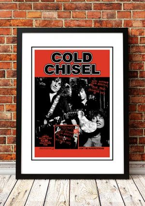 Cold Chisel 'You're Thirteen' In Store Poster 1978