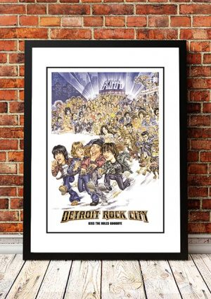 KISS 'Detroit Rock City' Movie Poster 1999