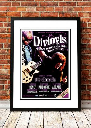 Divinyls / The Church 'Don't Wanna Do This' Australian Tour 2007