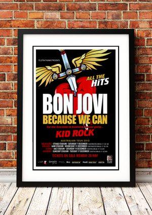 Bon Jovi / Kid Rock – Australian Tour 2013