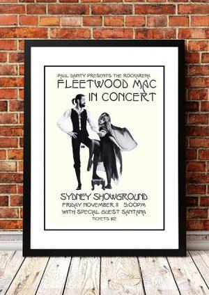 Fleetwood Mac / Santana 'Sydney Showground' Sydney, Australia 1977
