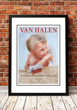 Van Halen '1984' In Store Poster