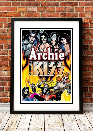 Archie Meets The Kiss – Comic Book Poster