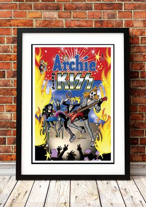 Archie Meets The Kiss 'Band' – Comic Book Poster