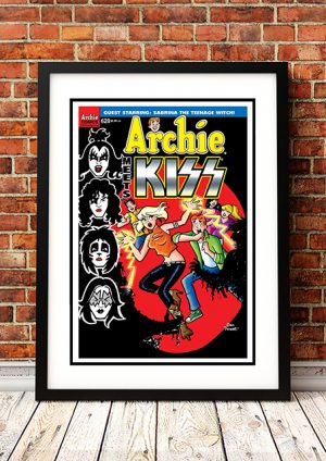 Archie Meets The Kiss 'Sabrina' – Comic Book Poster