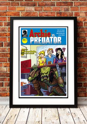 Archie Vs Predator – Comic Book Poster