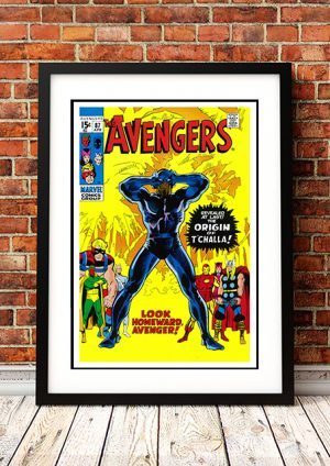 Avengers 'Look Homeward' – Comic Book Poster