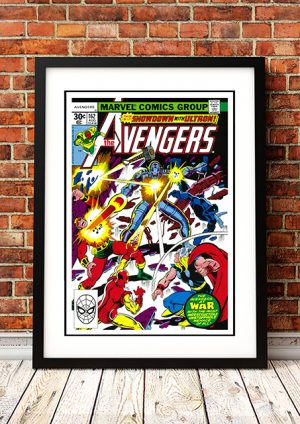 Avengers 'Ultron' – Comic Book Poster