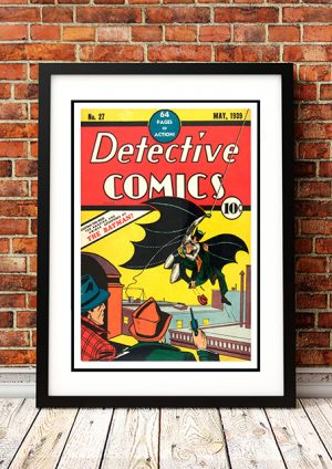 Batman – Comic Book Poster 1939