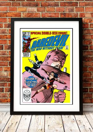 Daredevil – Comic Book Poster