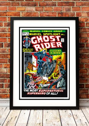 Ghost Rider – Comic Book Poster