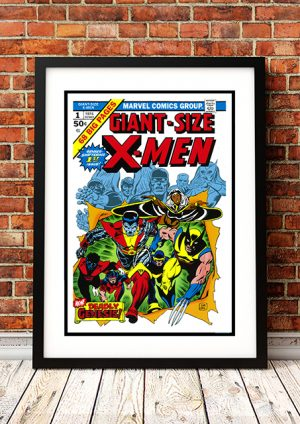 Giant Size X-Men – Comic Book Poster